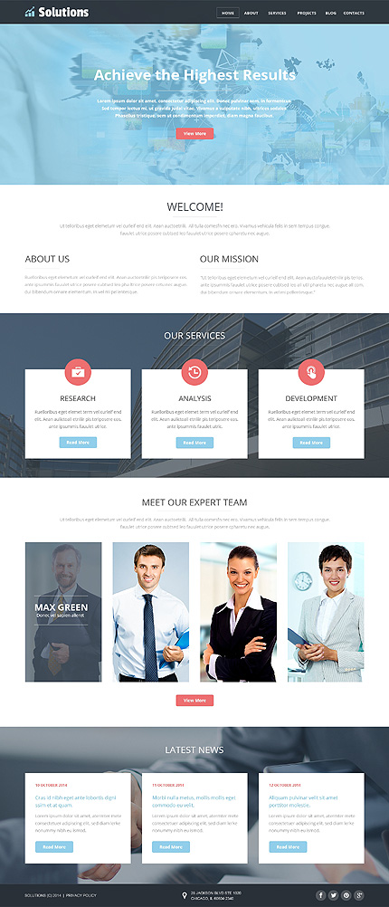 Business Web Joomla Template