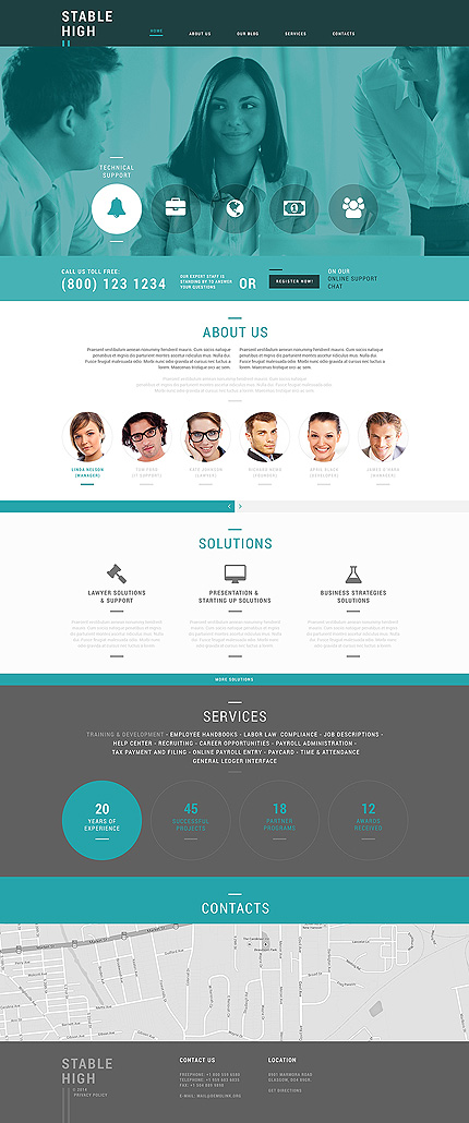 Money Making Business Joomla Template