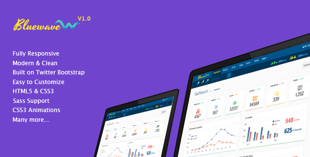 Bluewaves - Responsive Admin Template