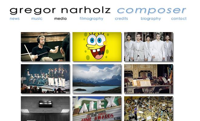 gregor narholz musician composer website personal