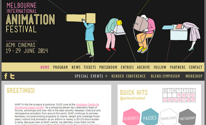 melbourne australia animation festival website