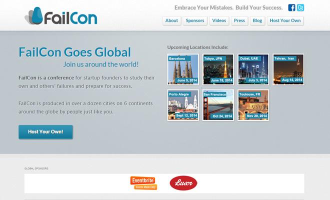 amsterdam festival homepage failcon conference