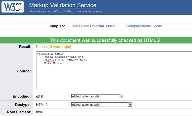 html5 w3 validator website