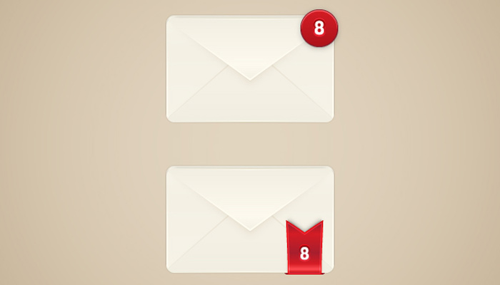 email alert box illustrator vector