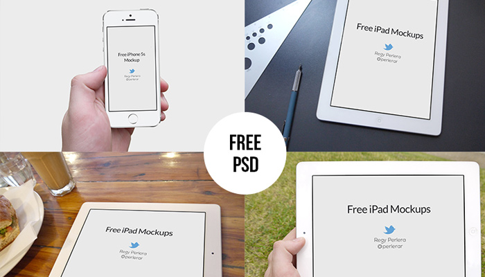 iphone ipad device mockups psd