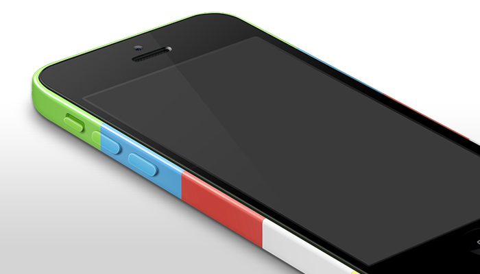 iphone 5c mockup template psd