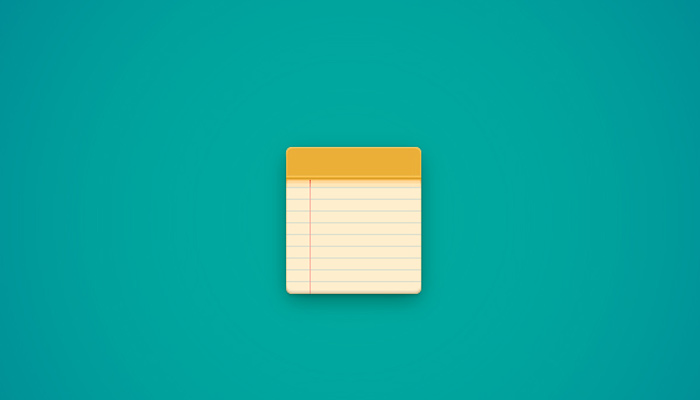 simple notebook icon design tutorial