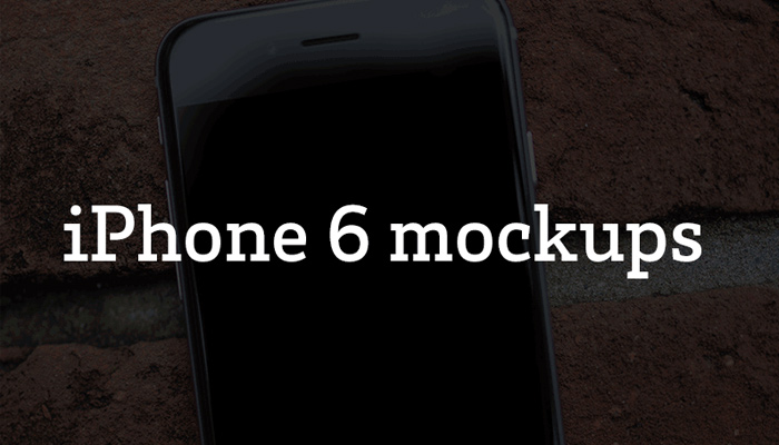 twelve 12 free iphone6 mockup device psds