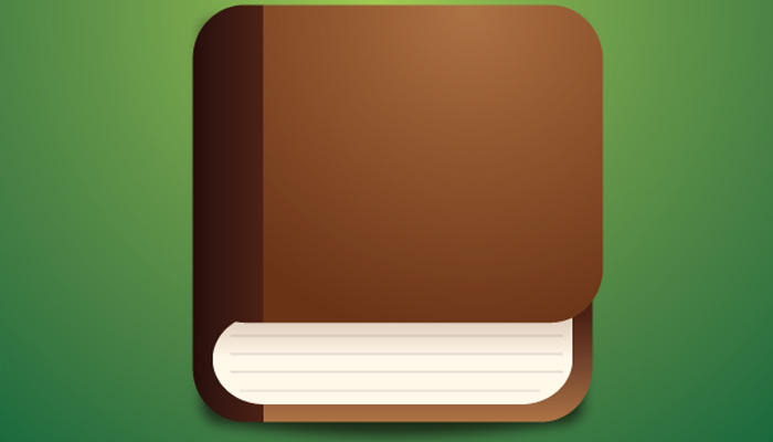 ios book icon vector tutorial