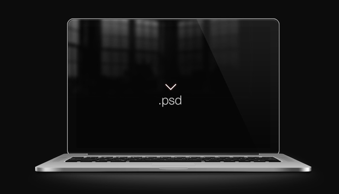 retina macbook pro device screen mockup
