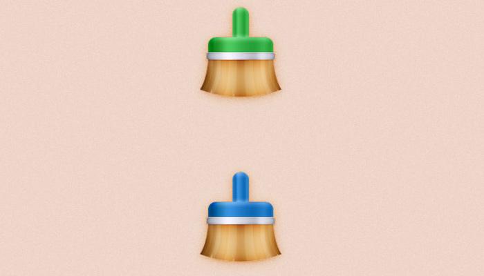 colorful paintbrush icon photoshop tutorial