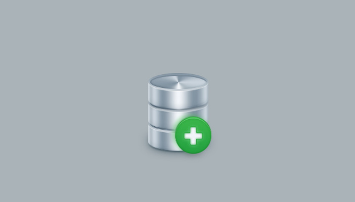 simple database server icon design tutorial