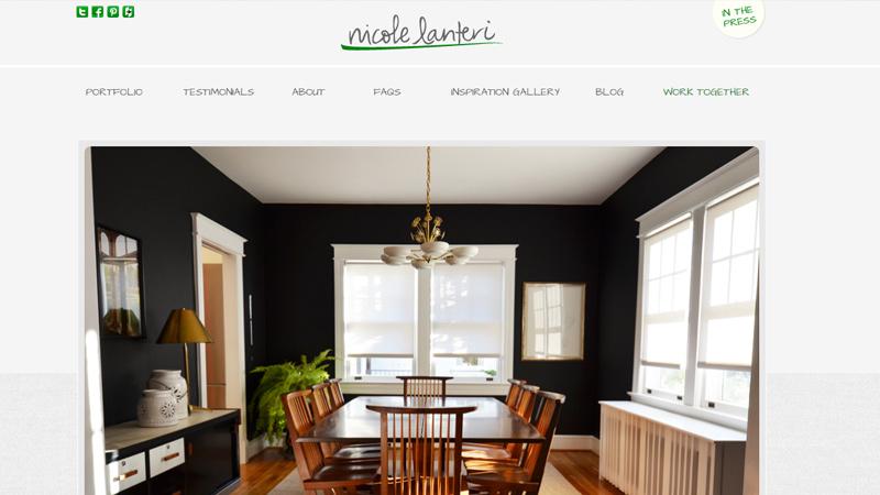 nicole lanteri interior designer personal website