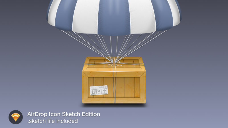 airdop icon sketch freebie