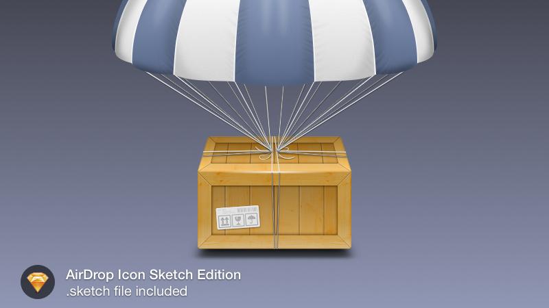 airdop icon sketch freebie