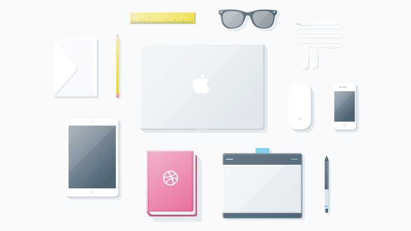 essential icons things freebie sketch