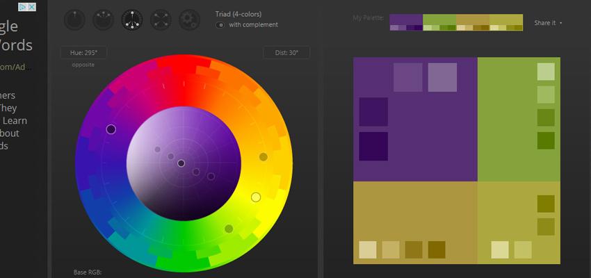 paletton palette color picker webapp