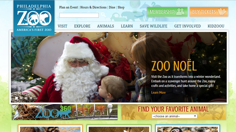philadelphia zoo pennsylvania website