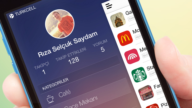 iphone app sidebar navigation sketch freebie