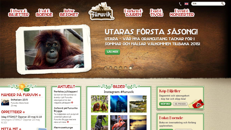 furuvik zoo sweden website