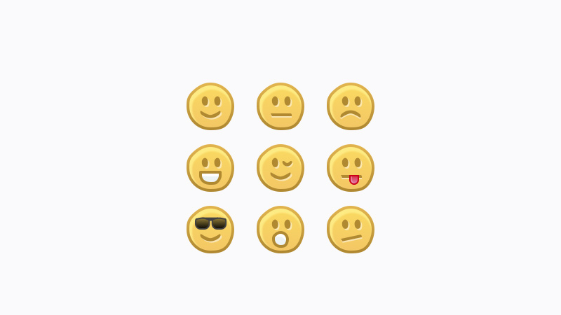 handdrawn emoticons faces icons sketch freebie