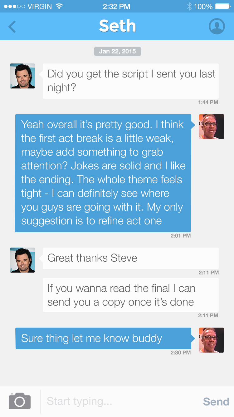 fullscreen preview chat iphone app ui psd freebie