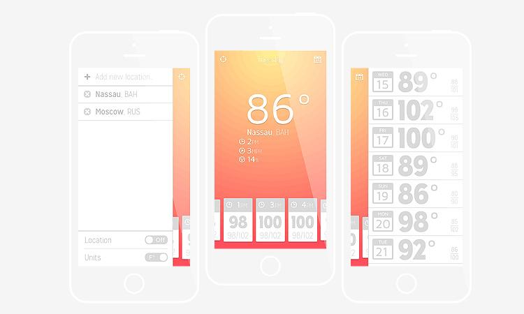 ios iphone app weather illustrator tutorial