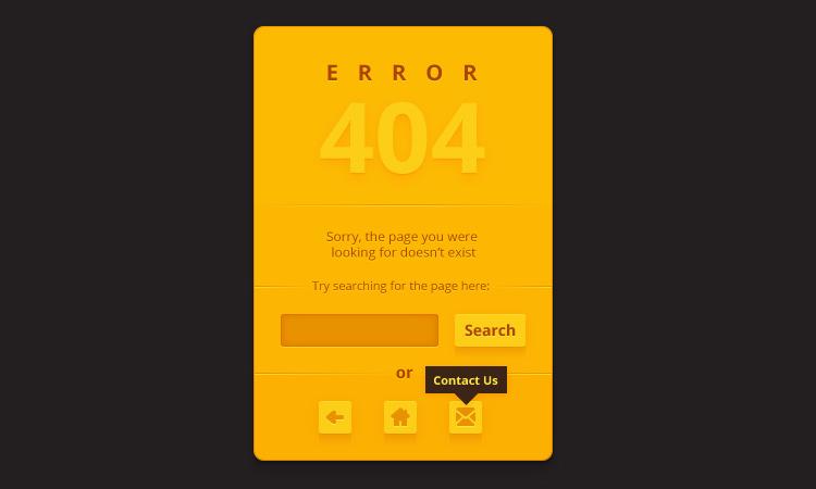 404 error page illustrator vector