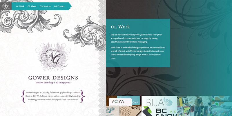 natalie gower design portfolio