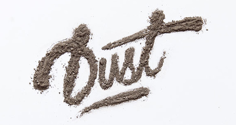 dirt typography effect photoshop