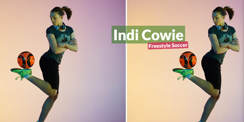indi cowie soccer freestyle homepage
