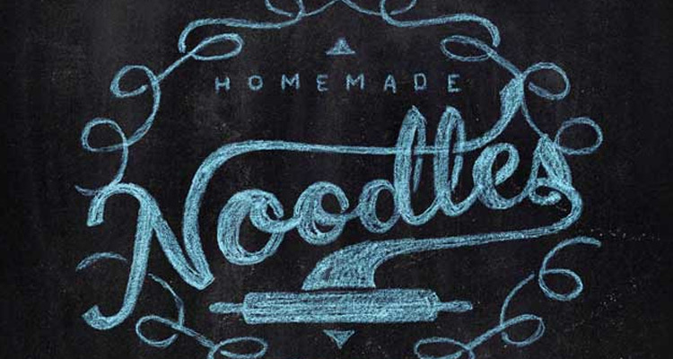 chalk logo written digital typography