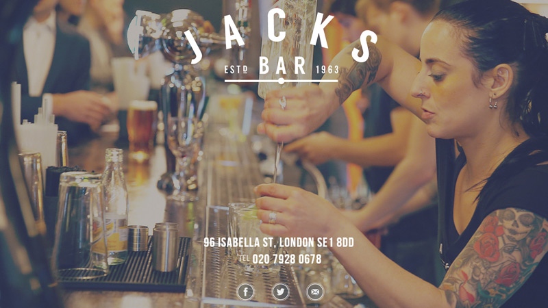 jacks bar website background