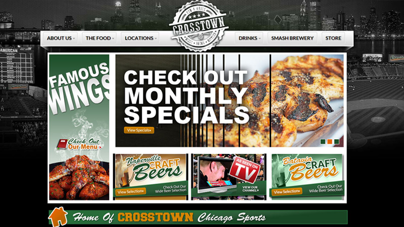 crosstown pub bar grill restaurant