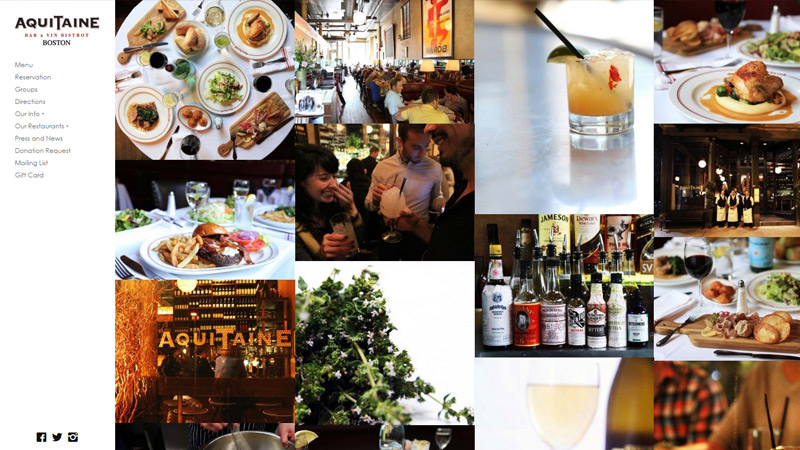 aquitaine boston restaurant website