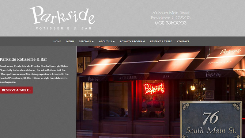 parkside providence bar grill