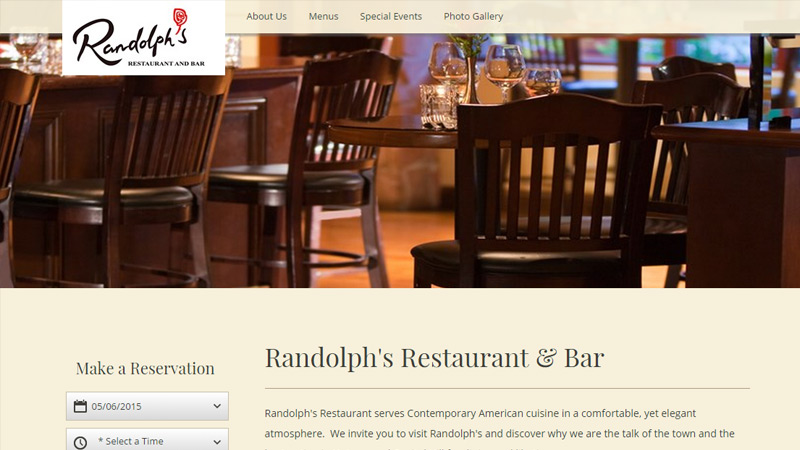 randolph denver website layout