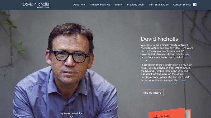 david nicholls writer portfolio