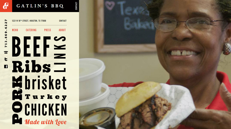 gatlins bbq barbecue website