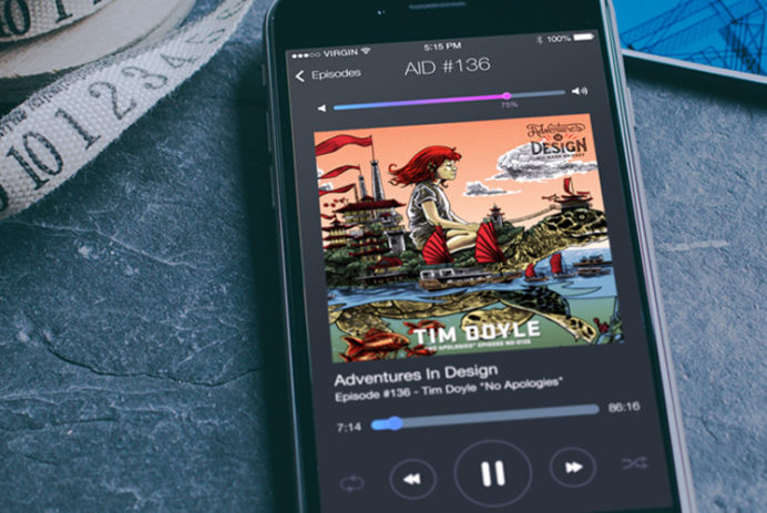ios8-iphone6-preview-psd-freebie-podcast-app