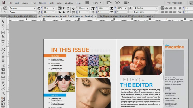 introduction to magazine design