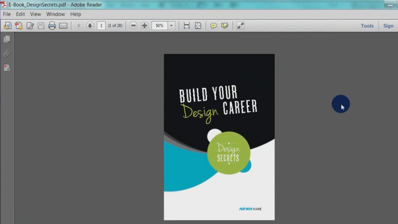 ebook layout indesign