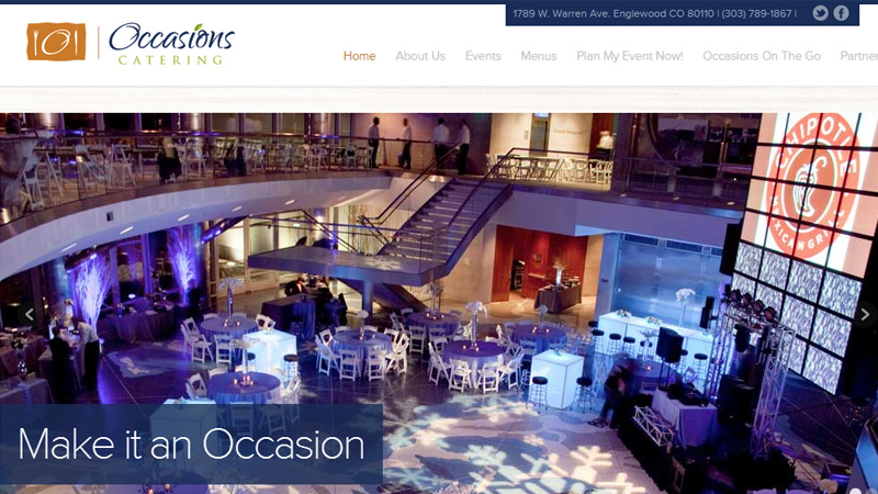 occasions catering denver