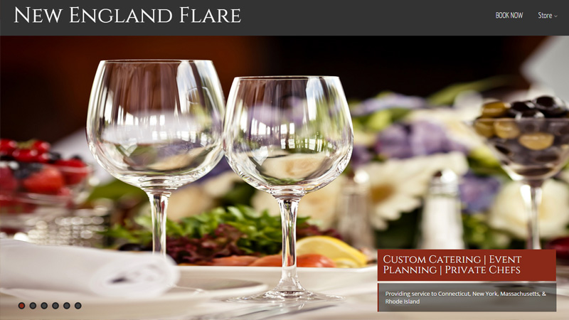 new england flare catering