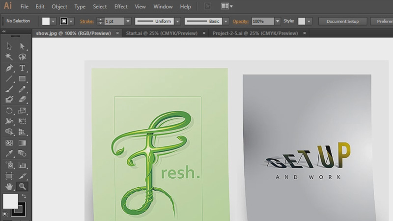 typography poster design course