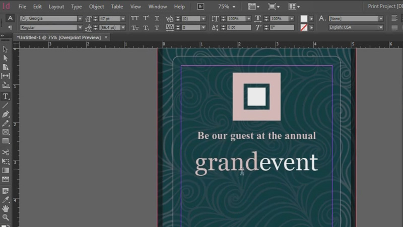 howto design invitations print