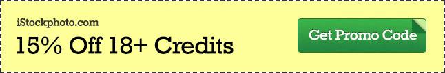 iStock Promo Code - Save 15% Off 18+ Credits