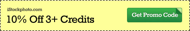 iStock Promo Code - Save 10% Off 3+ Credits