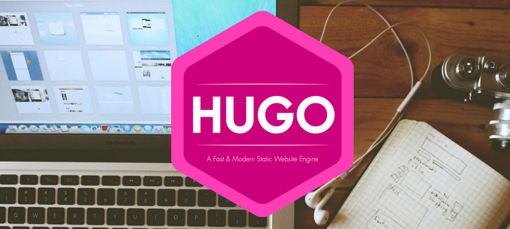Hugo static site engine