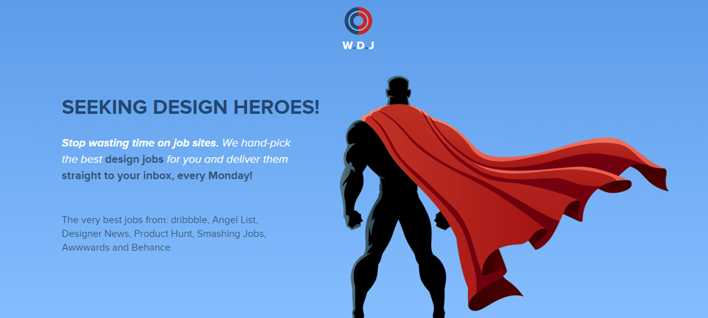 Weekly Design Jobs website